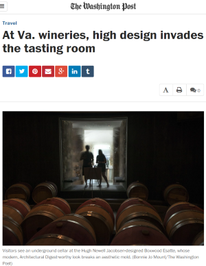 The Tasting Room in the Washington Post